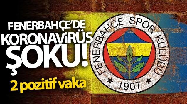 Fenerbahçe'de 2 pozitif vaka!